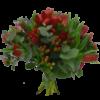julbukett-med-röda-tulpaner