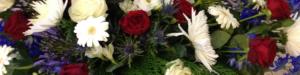 Begravningsbukett bakgrundsbild