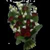 Begravningsbukett Mariachi i rött
