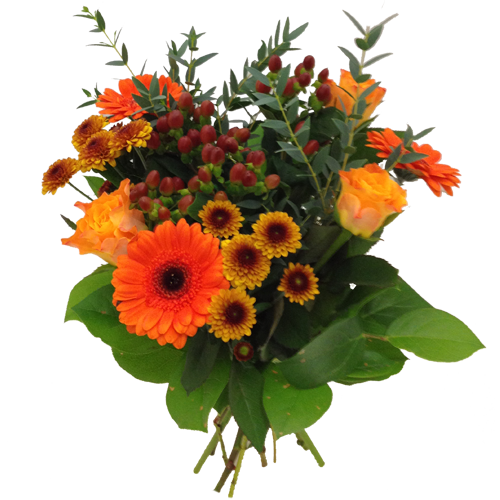 elegant-orange-bukett