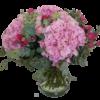 vacker-bukett-med-hortensia-rosor