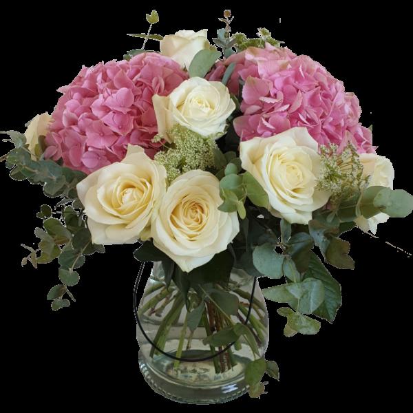 elegant-bukett-med-hortensia