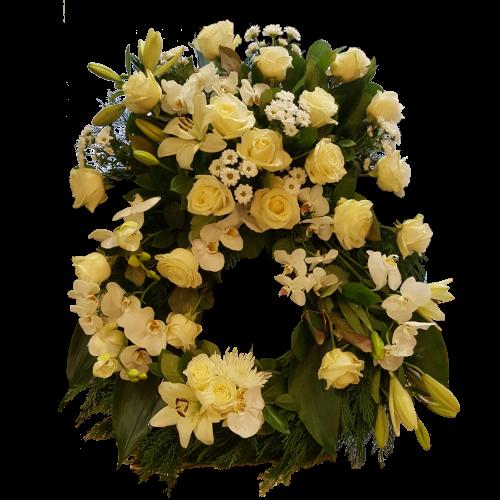 begravningskrans_vit